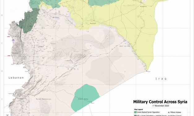 Military Control Across Syria November-2020