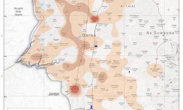 Arrests in South Syria – 10 September 2019