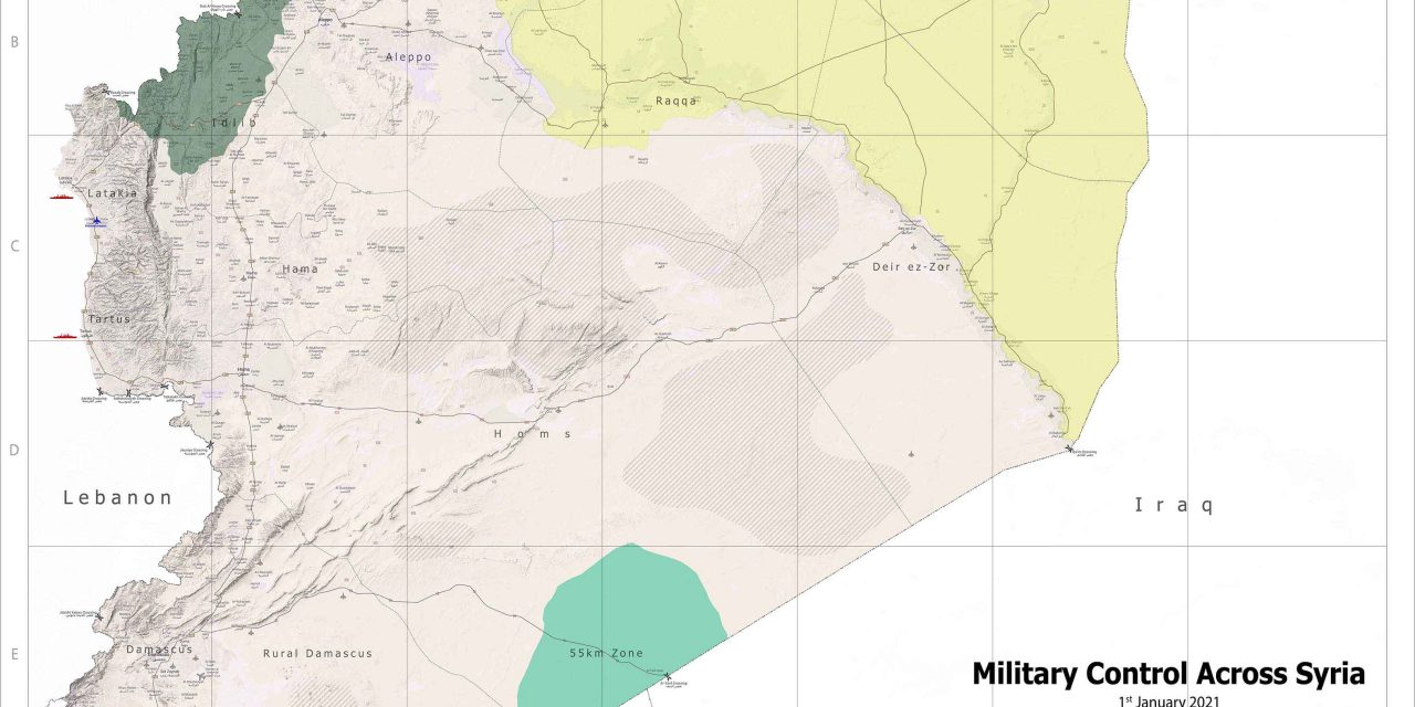 Military Control Across Syria – January-2021