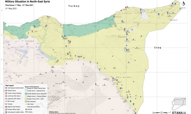 Syria Military Brief: North-East Syria – 31 May 2021