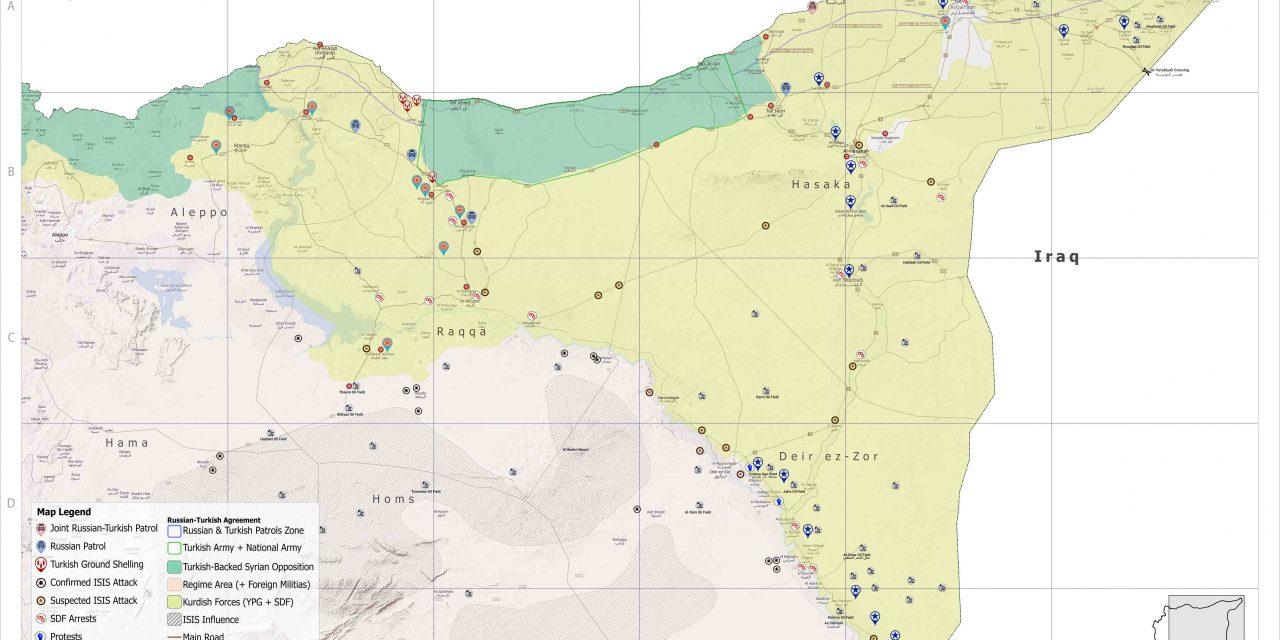 Syria Military Brief: North-East Syria – 01 July 2021