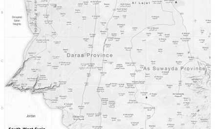 Syria Military Brief: South Syria – 01 July 2021